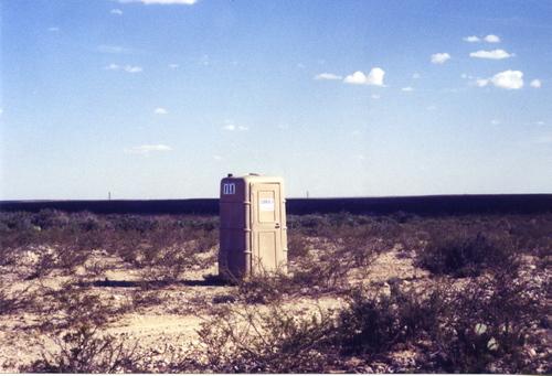 Potty on the Lone Prairie