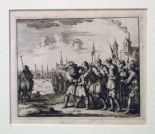 Burning of Jakob Dircks and sons, Antwerp, 1568