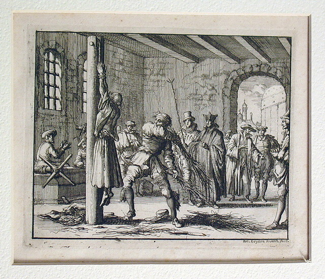 Torture of teacher Ursula, Maastricht, 1570