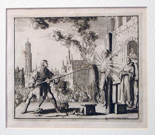 Burning of Hendrik Eemkens, Utrecht, 1562